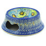 9-inch Stoneware Pet Bowl - Polmedia Polish Pottery H1149F