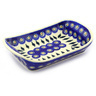 9-inch Stoneware Platter with Handles - Polmedia Polish Pottery H6148F