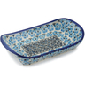 9-inch Stoneware Platter with Handles - Polmedia Polish Pottery H7525K