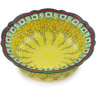 9-inch Stoneware Scalloped Bowl - Polmedia Polish Pottery H2683K