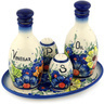 9-inch Stoneware Seasoning Set - Polmedia Polish Pottery H7555C