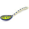9-inch Stoneware Serving Spoon - Polmedia Polish Pottery H2496E