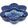 9-inch Stoneware Star Shaped Bowl - Polmedia Polish Pottery H1653L