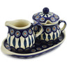 9-inch Stoneware Sugar and Creamer Set - Polmedia Polish Pottery H2653K