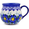 9 oz Stoneware Bubble Mug - Polmedia Polish Pottery H0864K