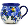9 oz Stoneware Bubble Mug - Polmedia Polish Pottery H0865K