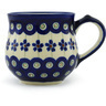 9 oz Stoneware Bubble Mug - Polmedia Polish Pottery H2920H