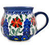 9 oz Stoneware Bubble Mug - Polmedia Polish Pottery H4708K