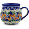 9 oz Stoneware Bubble Mug - Polmedia Polish Pottery H7204J