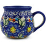 9 oz Stoneware Bubble Mug - Polmedia Polish Pottery H7205J