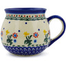 9 oz Stoneware Bubble Mug - Polmedia Polish Pottery H7206J