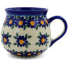 9 oz Stoneware Bubble Mug - Polmedia Polish Pottery H7216J