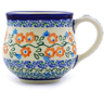 9 oz Stoneware Bubble Mug - Polmedia Polish Pottery H8091I