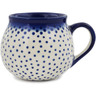 9 oz Stoneware Bubble Mug - Polmedia Polish Pottery H9751K