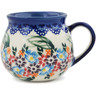 9 oz Stoneware Bubble Mug - Polmedia Polish Pottery H9815K