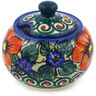 9 oz Stoneware Sugar Bowl - Polmedia Polish Pottery H1256F