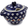 9 oz Stoneware Sugar Bowl - Polmedia Polish Pottery H3308K
