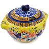 9 oz Stoneware Sugar Bowl - Polmedia Polish Pottery H3359K