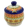 9 oz Stoneware Sugar Bowl - Polmedia Polish Pottery H5201K
