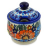 9 oz Stoneware Sugar Bowl - Polmedia Polish Pottery H5202K