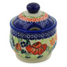 9 oz Stoneware Sugar Bowl - Polmedia Polish Pottery H6007K