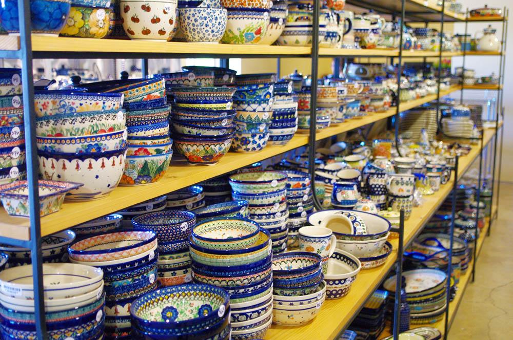 Warehouse Store Polmedia Polish Pottery