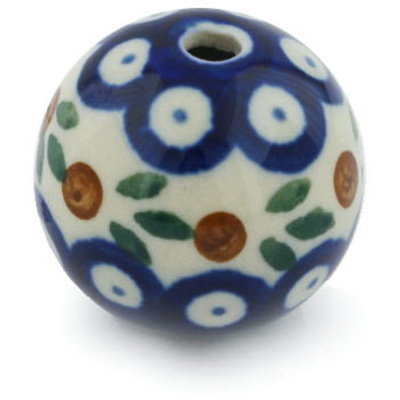 "Polish Pottery Bead 1"" Mosquito"