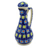 Polish Pottery Bottle 5 oz Mosaic Tile