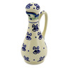Polish Pottery Bottle 5 oz Royal Bells