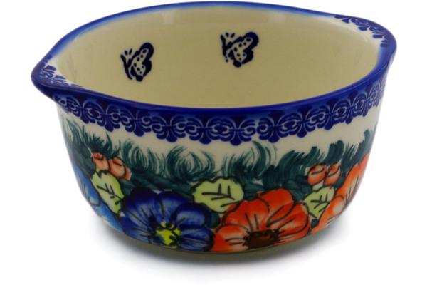 Polish Pottery Bouillon Cup 15 Oz