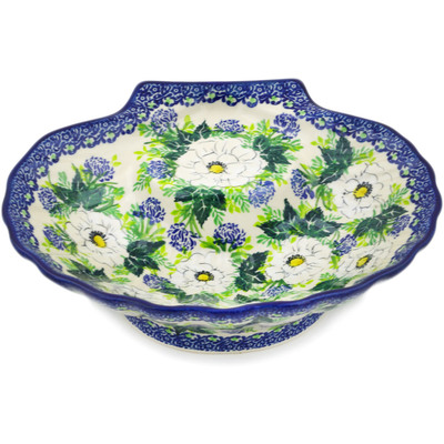 "Polish Pottery Bowl 10"" UNIKAT"