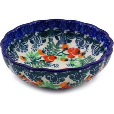 "Polish Pottery Bowl 5"" Currant Tomatoes"