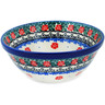 "Polish Pottery Bowl 5"" Spring Butterfly"