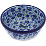 "Polish Pottery Bowl 6"" Misty Dragonfly"