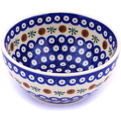 "Polish Pottery Bowl 6"" Mosquito"
