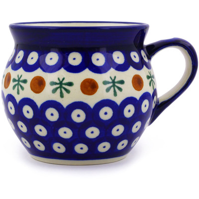 Polish Pottery Bubble Mug 12 oz Mosquito