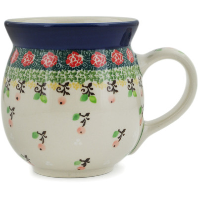 Polish Pottery Bubble Mug 16 oz Rowanberry Garden