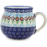 Polish Pottery Bubble Mug 19 oz Spring Country Trip