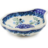 "Polish Pottery Condiment Server 5"" Spring Bunch"