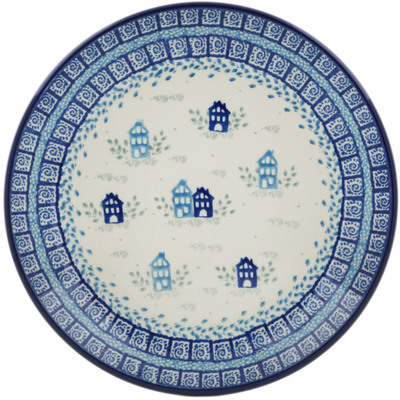 Polish Pottery Dessert Plate House Of Blues