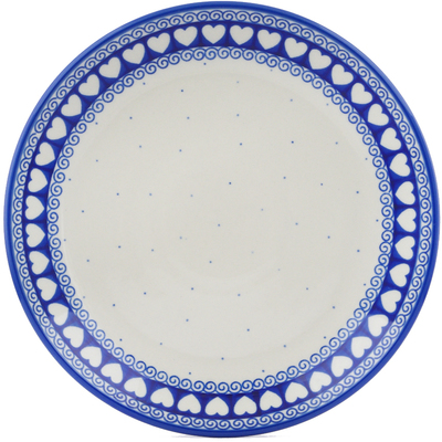 Polish Pottery Dinner Plate 10½-inch Light Hearted