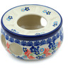 "Polish Pottery Heater 6"" Tulip Berries"