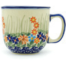 Polish Pottery Mug 10 oz Blissful Daisy