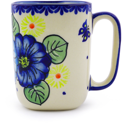 Polish Pottery Mug 10 oz Endless Summer