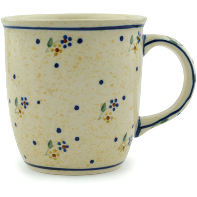 Polish Pottery Mug 12 oz Country Meadow