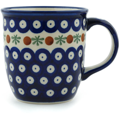Polish Pottery Mug 12 oz Mosquito
