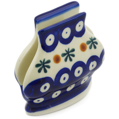 Polish Pottery Napkin Holder 3-inch Mosquito