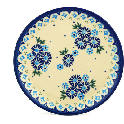 "Polish Pottery Plate 7"" Aster Patches"