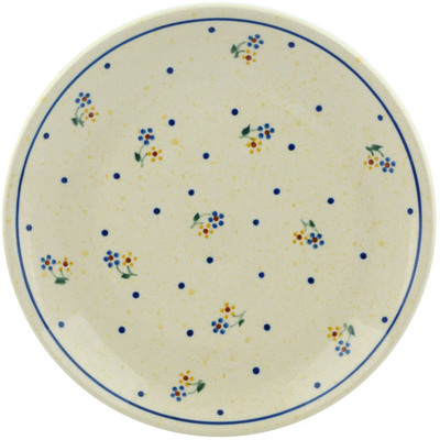 "Polish Pottery Plate 7"" Country Meadow"