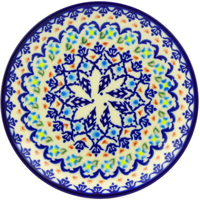 "Polish Pottery Plate 7"" Graphic Armor"